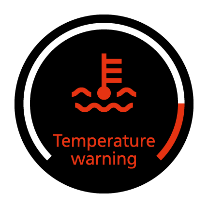 Temperature warning