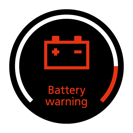 Battery warning