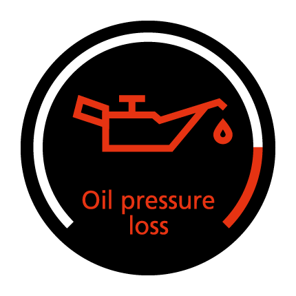 Oil pressure warning