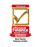 Best Equity Release Lender - The Personal Finance Awards 2016/17