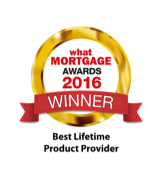 Best Lifetime Product Provider - What Mortgage Awards 2016