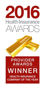 2016 Health Insurance Awards - Winner - Health insurance company of the year