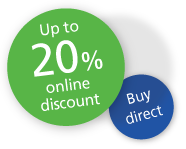 Buy direct, 40% no claim discount