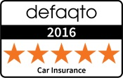 Defaqto 2016 five star motor insurance