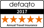 Defaqto 5 star annual travel insurance