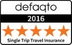 Defaqto 5 star single trip travel insurance