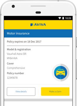 Aviva One Day Insurance >> MyAviva App - Aviva